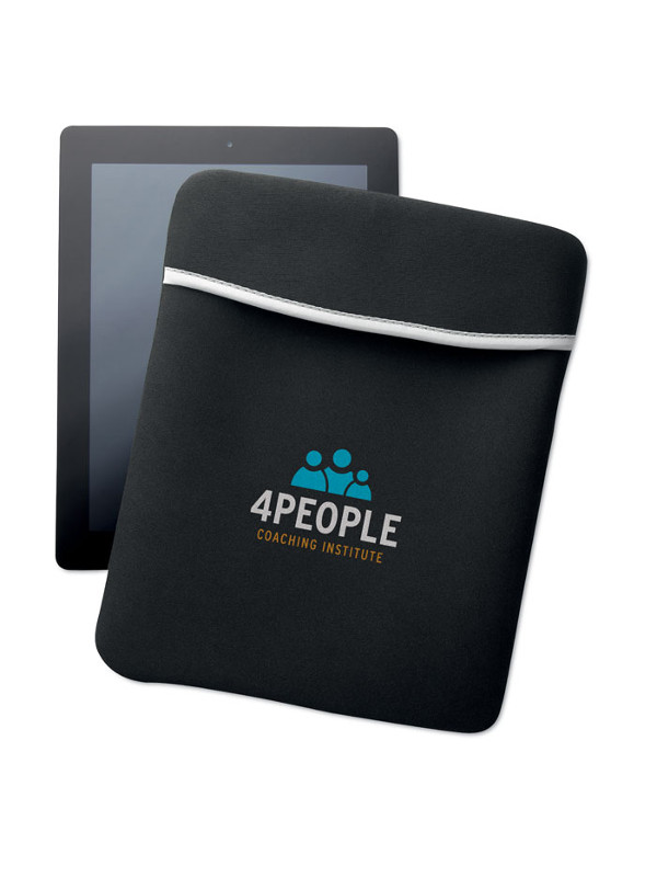 Reklamní pouzdro na tablet SILI černé 2