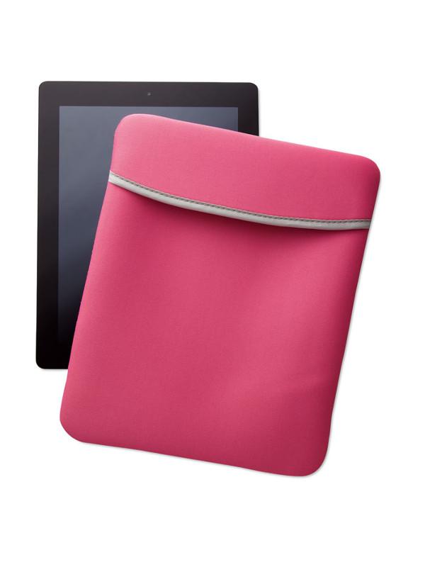 Reklamní pouzdro na tablet SILI růžové 2