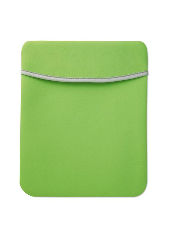 Reklamní pouzdro na tablet SILI zelené 3