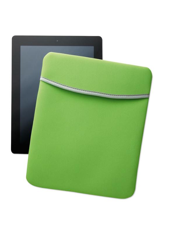 Reklamní pouzdro na tablet SILI zelené 1