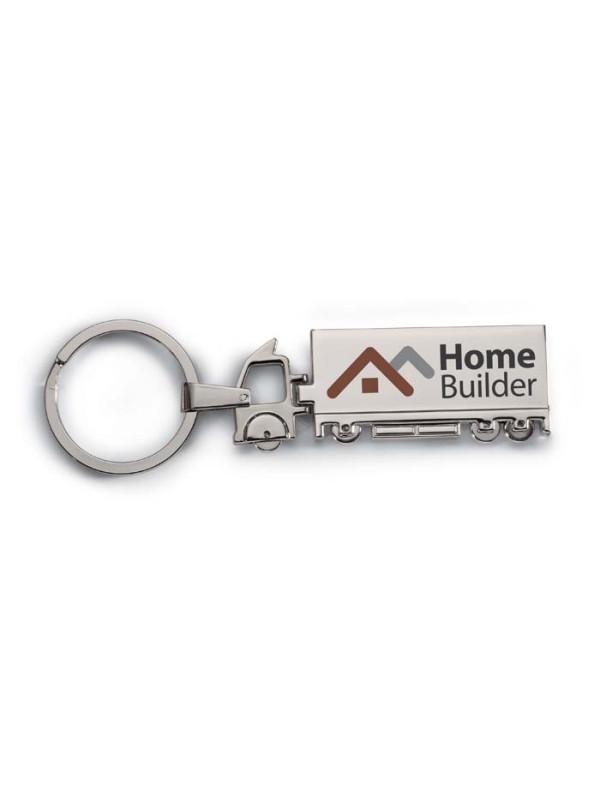 Reklamní kovový přívěsek na klíče TRUCKY