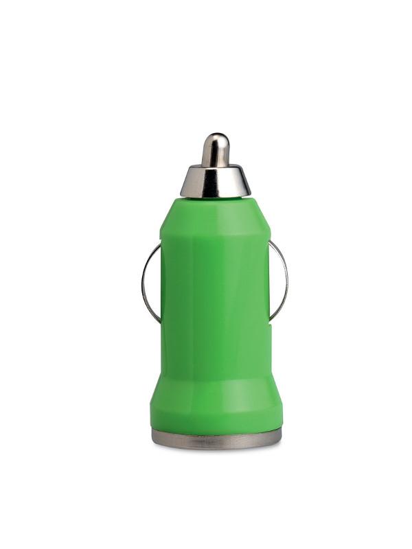Reklamní USB nabíječka MOBICAR zelená 41