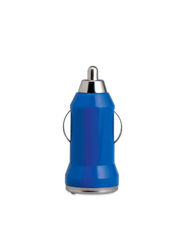 Reklamní USB nabíječka MOBICAR modrá