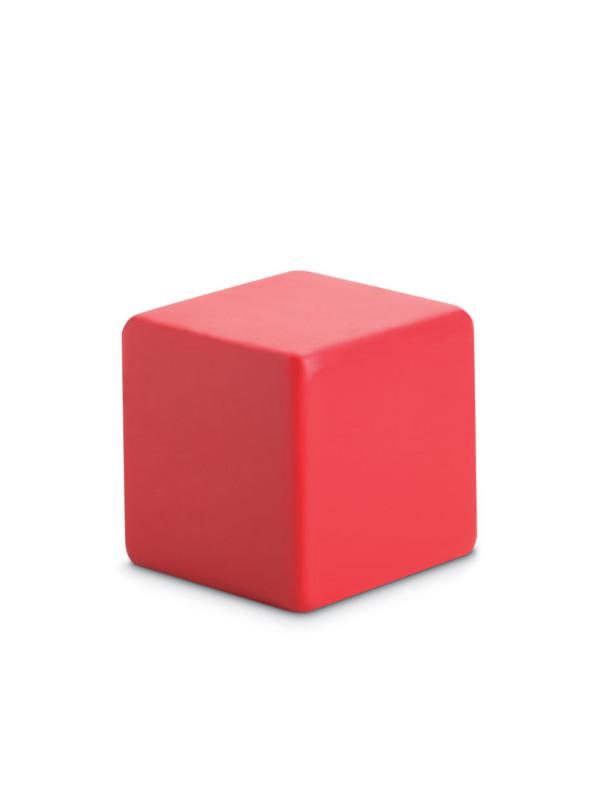 Antistresový předmět SQUARAX červená