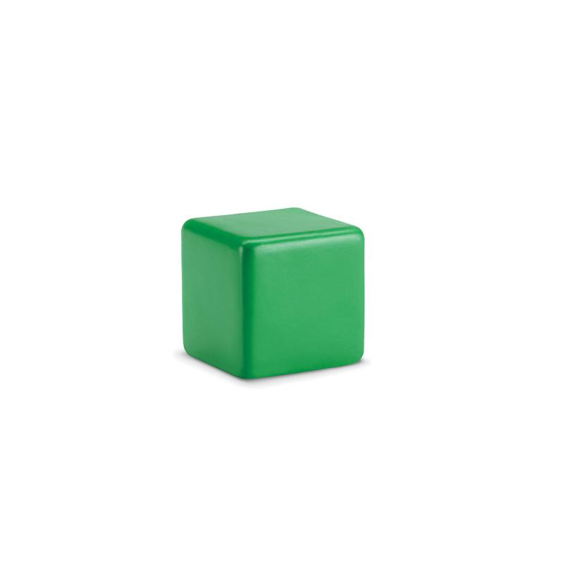 Antistresový předmět SQUARAX zelená