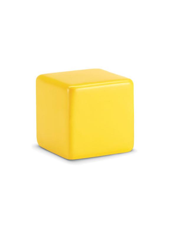 Antistresový předmět SQUARAX žlutá