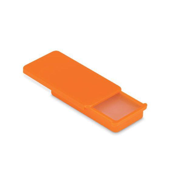 Reklamní balzám na rty FLAT GLOSS, oranžová