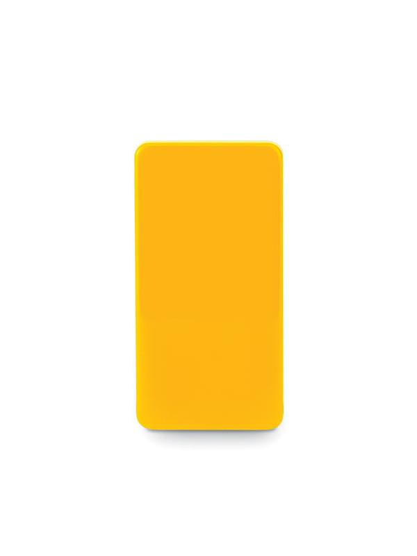 Reklamní balzám na rty FLAT GLOSS, žlutá