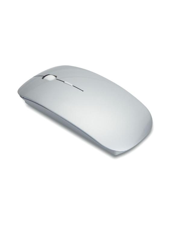 reklamní bezdrátová myš CURVY stříbrná