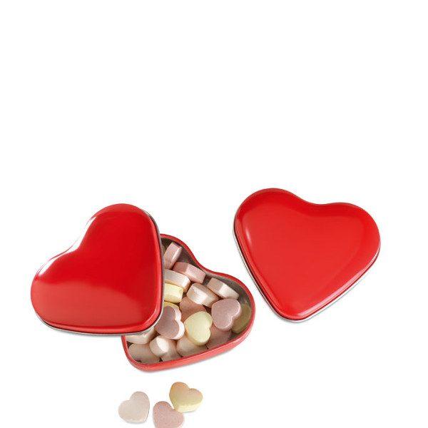 Reklamní bonbóny LOVEMINT červená 1