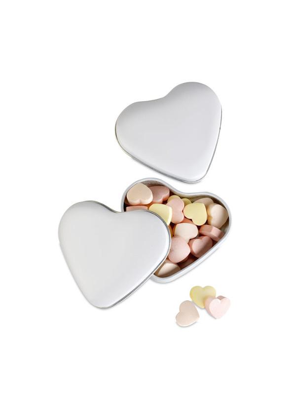 Reklamní bonbóny LOVEMINT stříbrná 1
