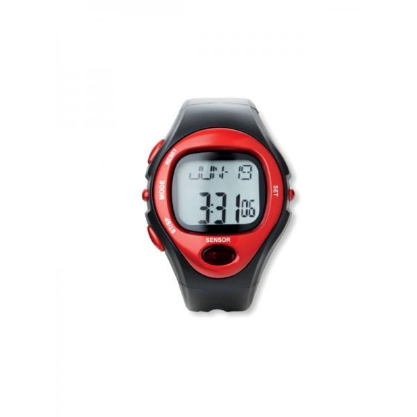 Digitální hodinky SPORTY červená 1