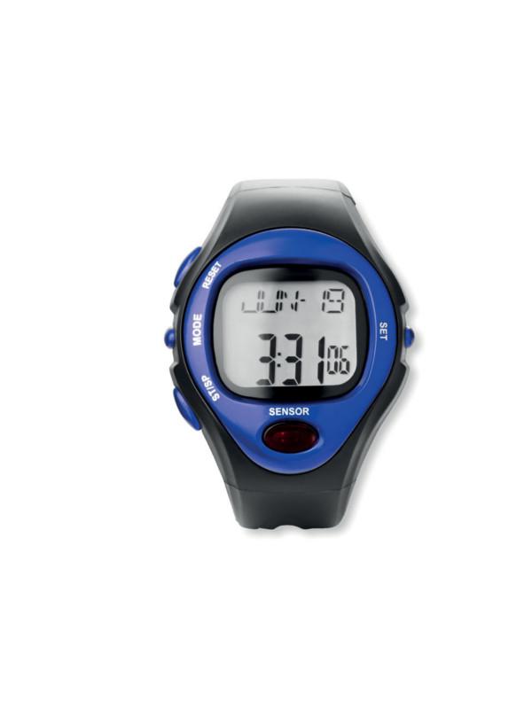 Digitální hodinky SPORTY modrá