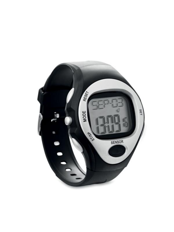 Digitální hodinky SPORTY stříbrná