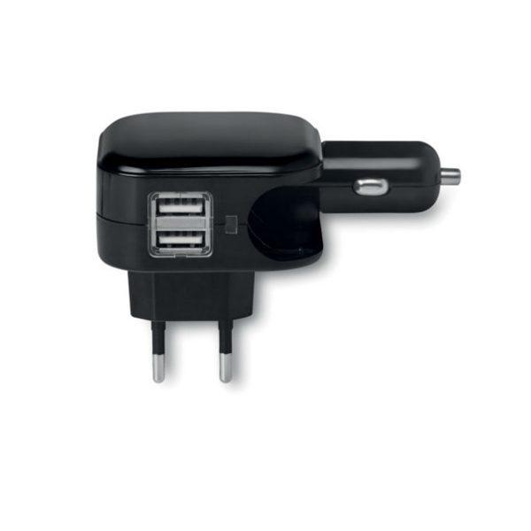 Reklamní napájecí adaptér COMBIPLUG, černá 1