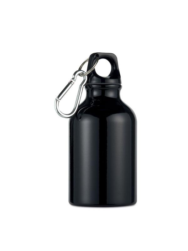 Reklamní hliníková láhev MOSS černá