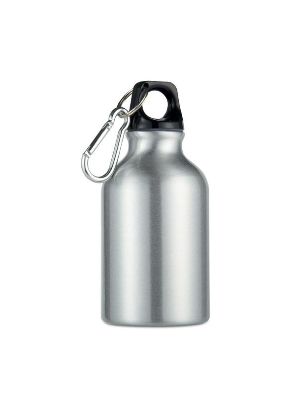 Reklamní hliníková láhev MOSS stříbrná