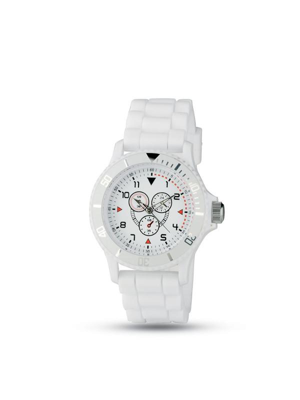 Reklamní hodinky MOTIONZONE bílá