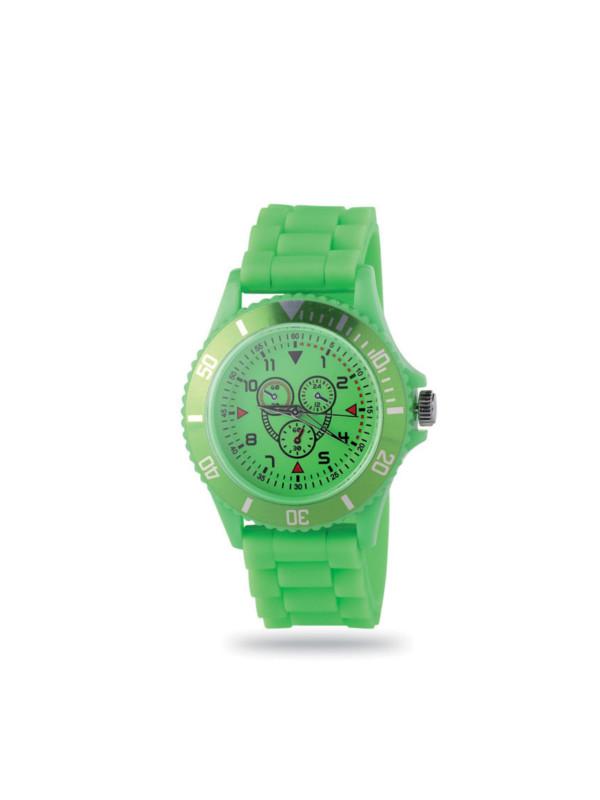 Reklamní hodinky MOTIONZONE zelená