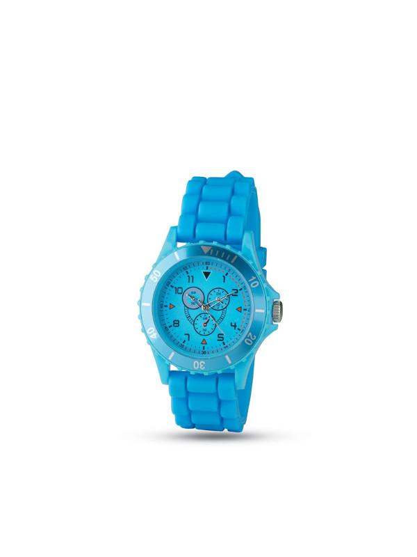 Reklamní hodinky MOTIONZONE modrá