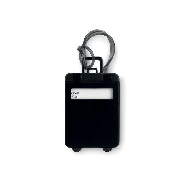 Reklamní visačka na kufr TRAVELLER, černá 1