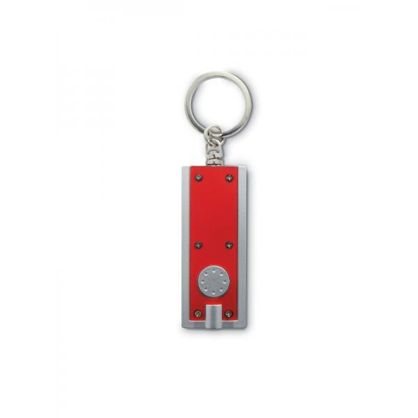 Reklamní klíčenka SIGNELITE červená