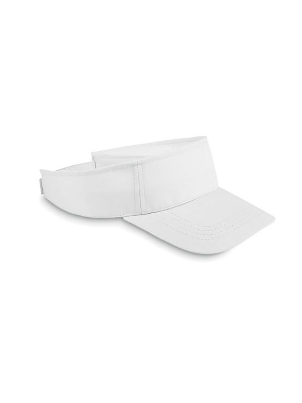 Reklamní sluneční kšilt SHADOW bílá