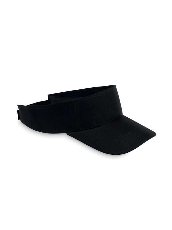 Reklamní sluneční kšilt SHADOW černá