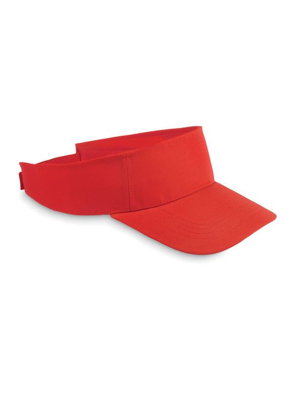 Reklamní sluneční kšilt SHADOW červená