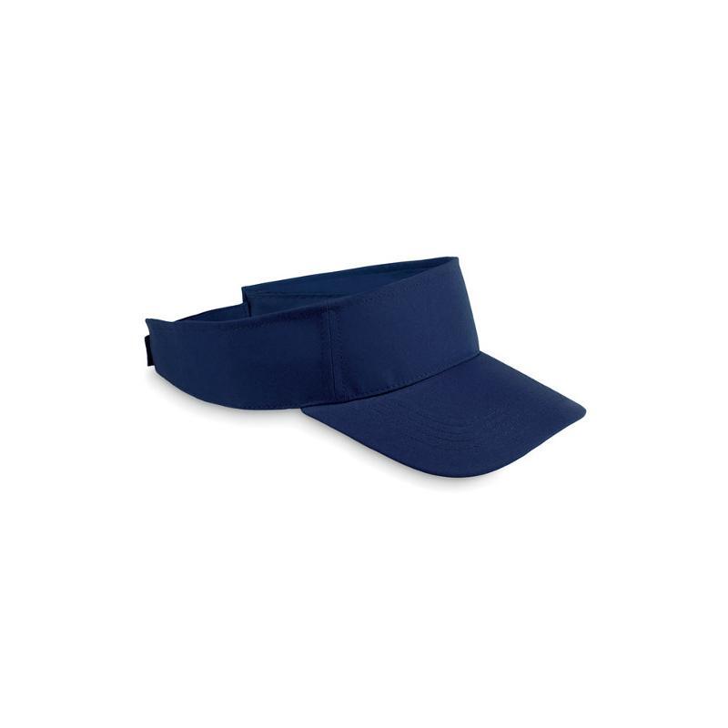 Reklamní sluneční kšilt SHADOW modrá