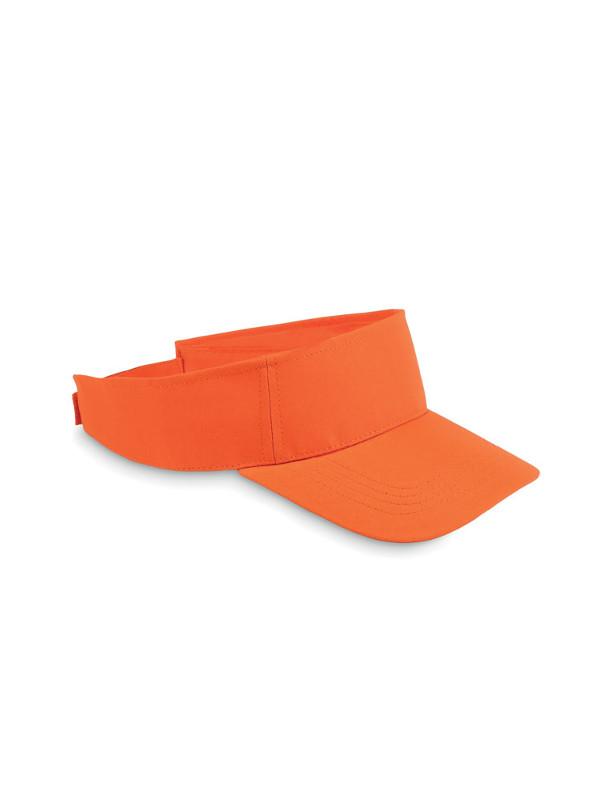 Reklamní sluneční kšilt SHADOW oranžová