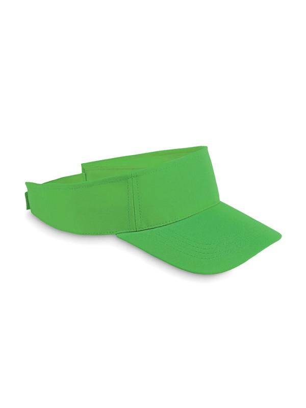 Reklamní sluneční kšilt SHADOW zelená