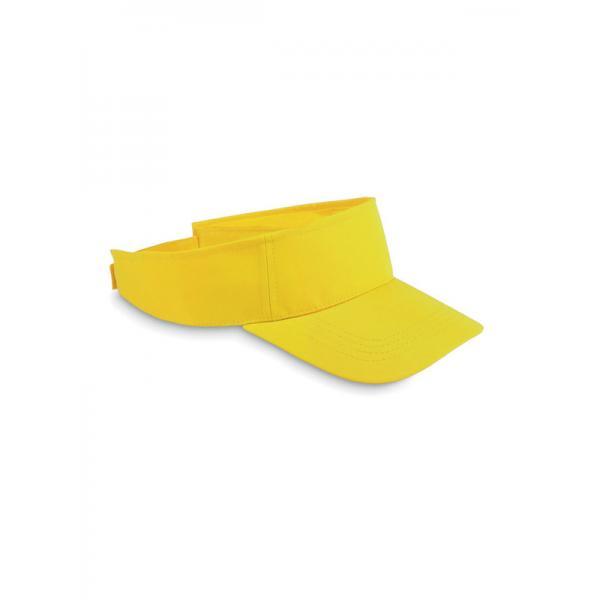 Reklamní sluneční kšilt SHADOW žlutá