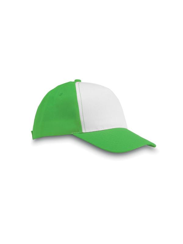 Reklamní kšiltovka SAN DIEGO zelená