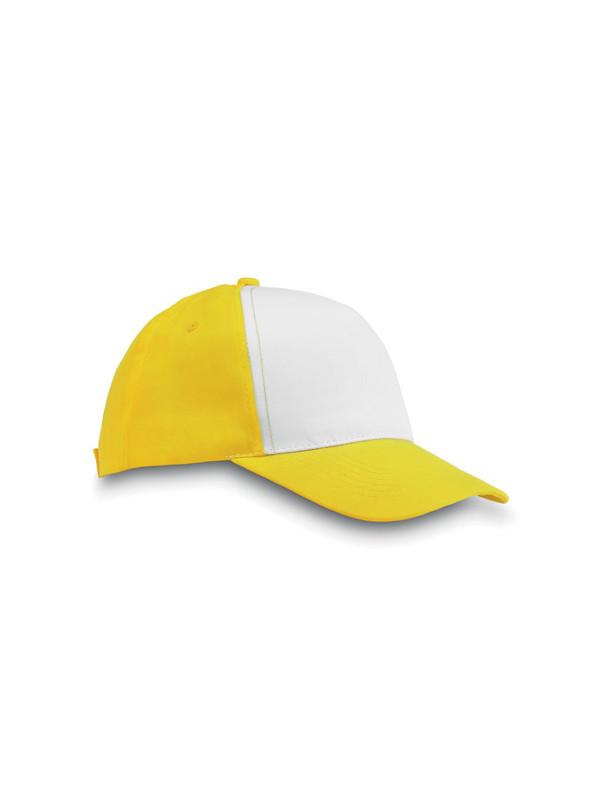 Reklamní kšiltovka SAN DIEGO žlutá