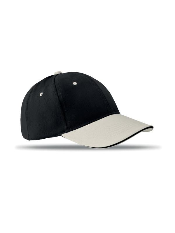 Reklamní kšiltovka SOLE CAP černá
