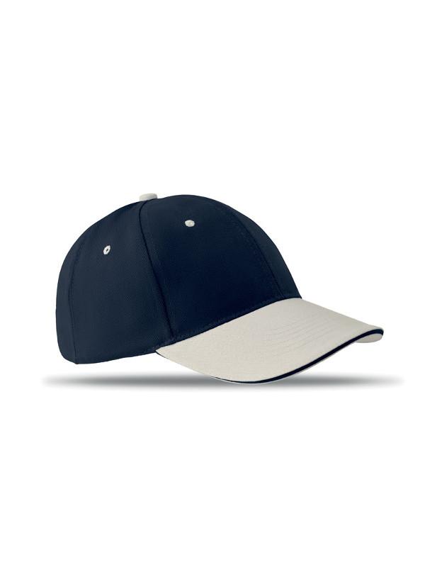 Reklamní kšiltovka SOLE CAP modrá