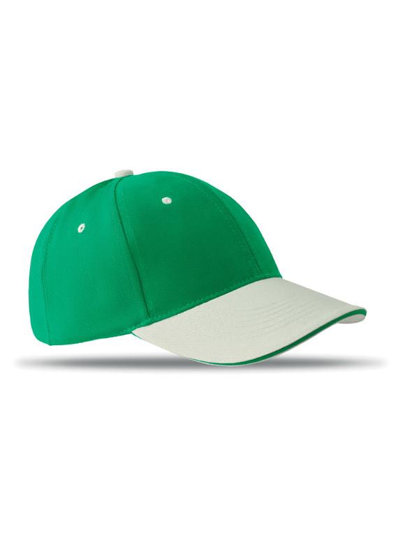 Reklamní kšiltovka SOLE CAP zelená