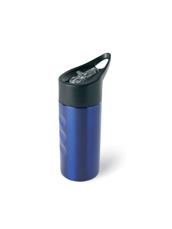 reklamní láhev na vodu LAGOON modrá