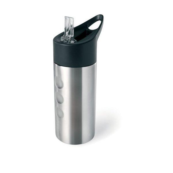 reklamní láhev na vodu LAGOON stříbrná