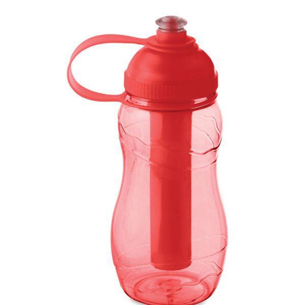 Reklamní láhev na vodu GOO, červená