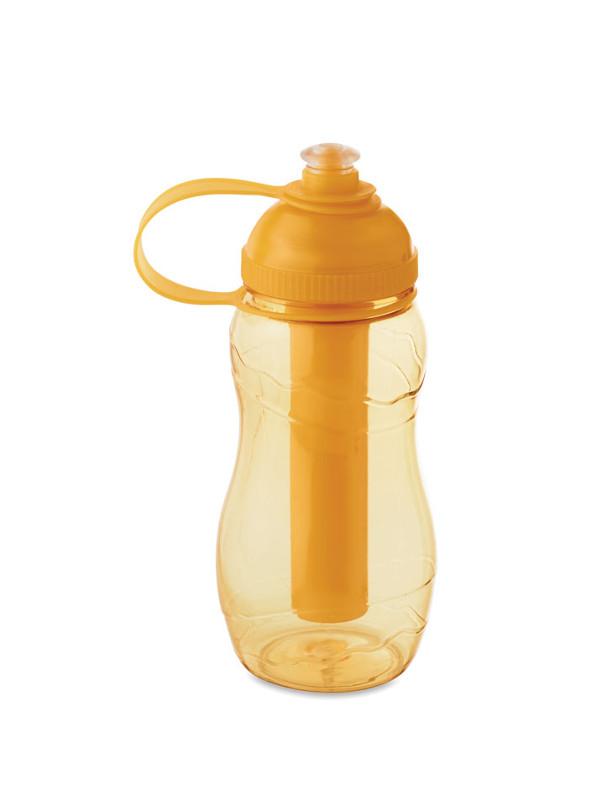 Reklamní láhev na vodu GOO, oranžová
