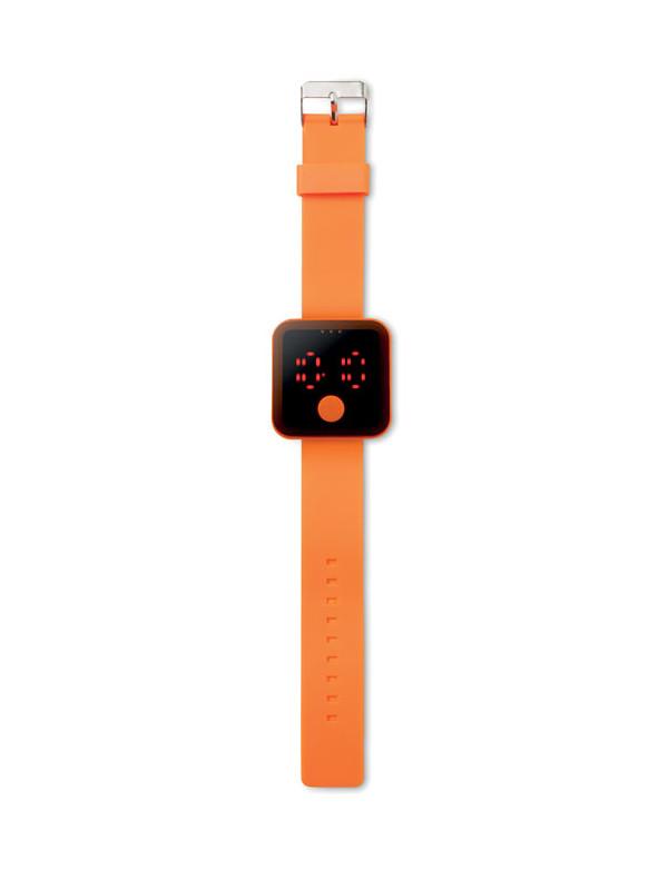 reklamní hodinky REDTIME oranžová