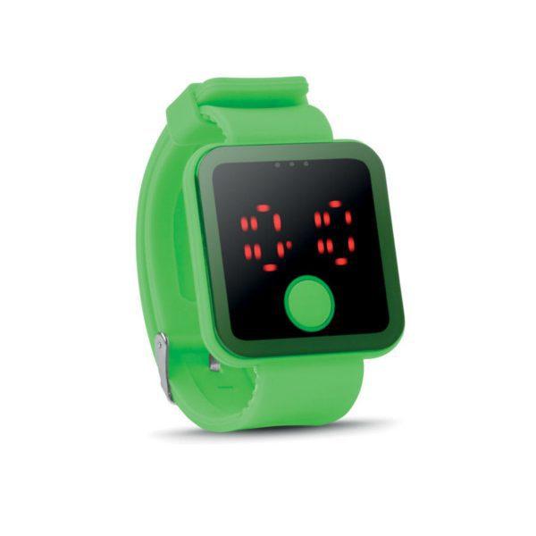 reklamní hodinky REDTIME zelená 1