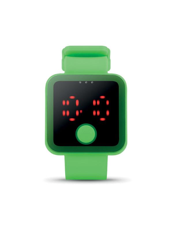 reklamní hodinky REDTIME zelená 2