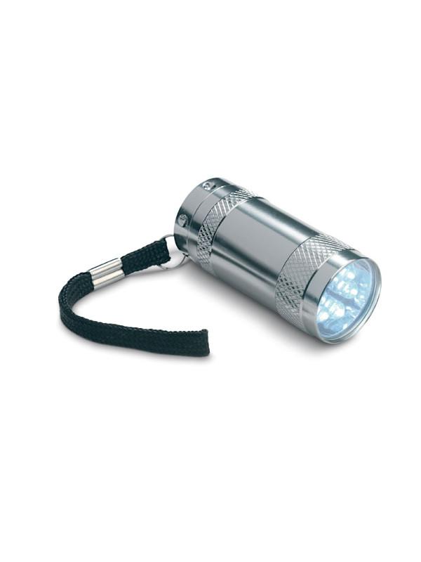 Reklamní svítilna TEXAS, stříbná