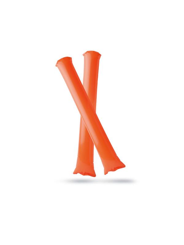 Nafukovací tyče BAMBAM oranžová