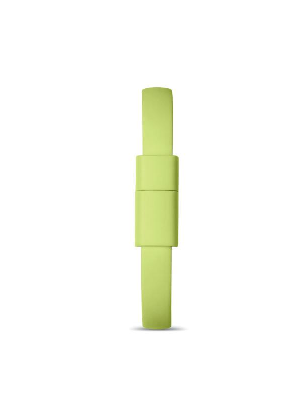 Náramek s USB CABLET, zelená 3