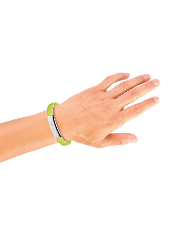 Náramek s USB CABLET, zelená 4
