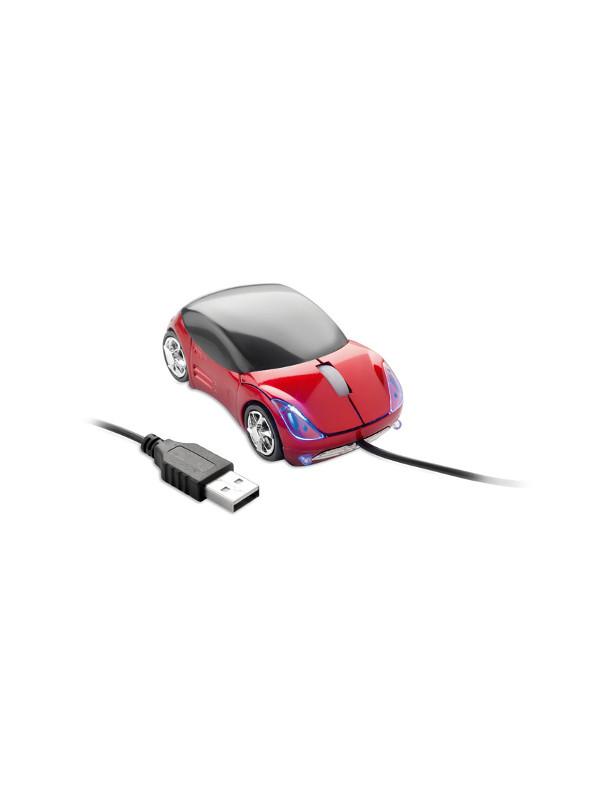 Optická myš MINIA červená